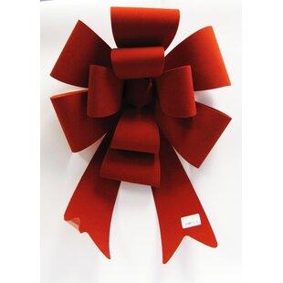 velvet christmas bow - Red Christmas Bows