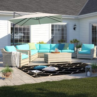 Falmouth 10 Piece Sectional Seating Group with Cushions