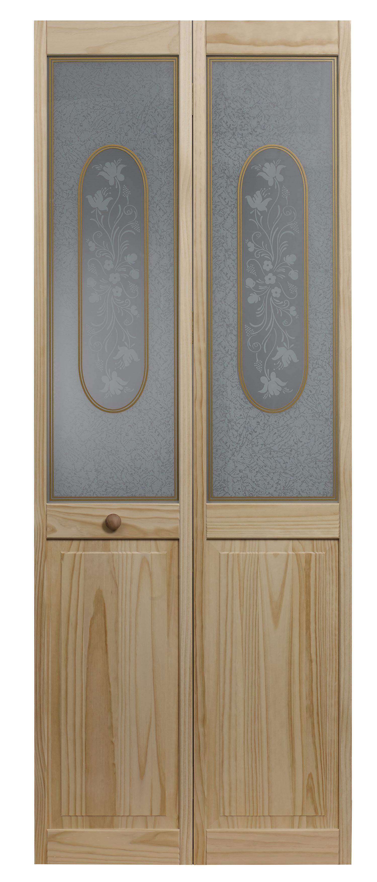 closet doors that open outward