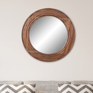 Lacroix Reclaimed Wood Wall Mounted Mirror