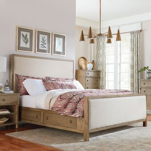 Grimaud Upholstered Storage Platform Bed by Lark Manor