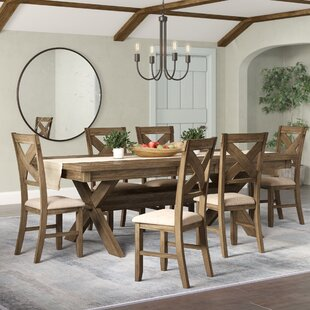 Poe 7 Piece Extendable Dining Set