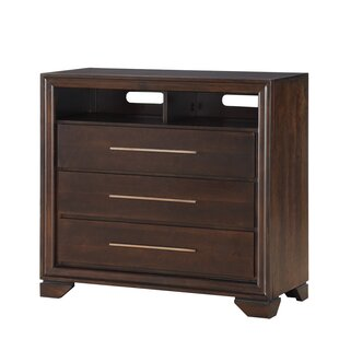 Catania 3 Drawer Media Chest
