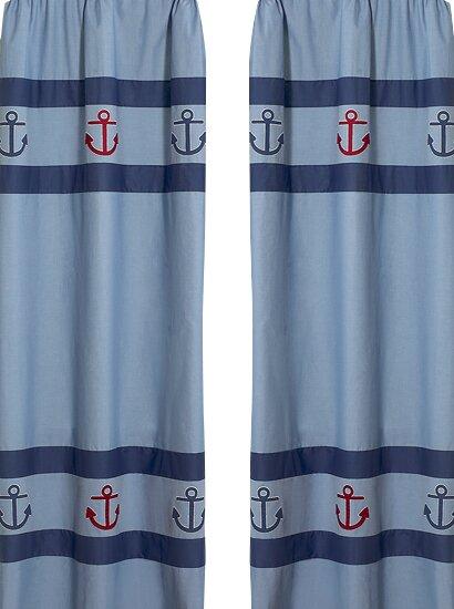 Nautical Nights Collection Window Panels