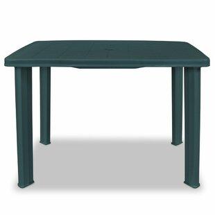 green plastic patio table wayfair co uk rh wayfair co uk plastic patio tables cheap plastic patio table top