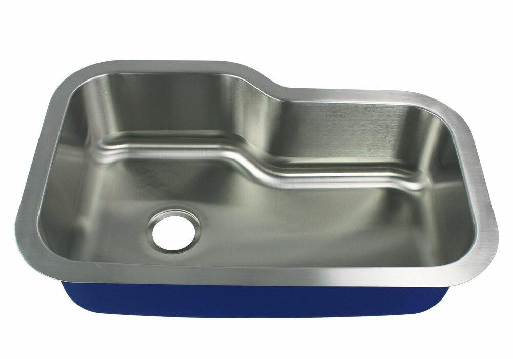 Transolid Meridian 33 L X 22 W Undermount Kitchen Sink Wayfair