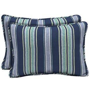 Croom Outdoor Lumbar Pillow (Set of 2)