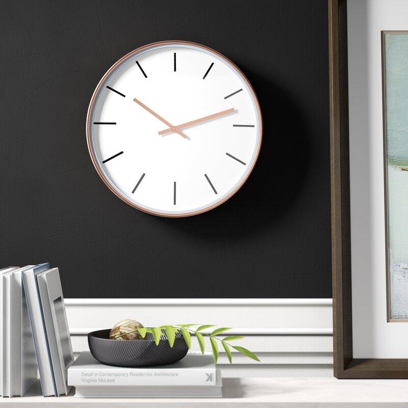 "Gulledge 15"" Timekeeper Clock by Mercury Row"