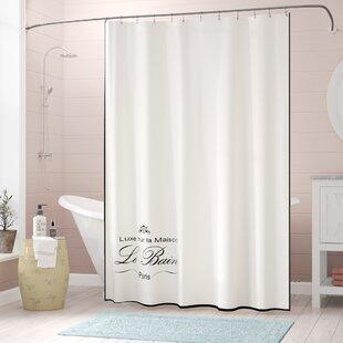 Noeline Paris Connection Le Bain Cotton Single Shower Curtain