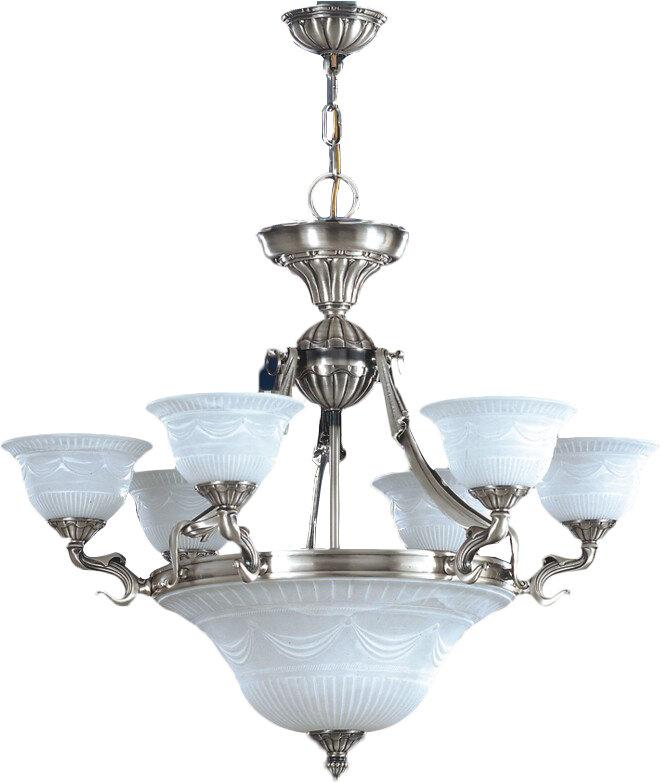 Zanin Lighting Inc Burgos 9 Light Shaded Empire Chandelier Perigold