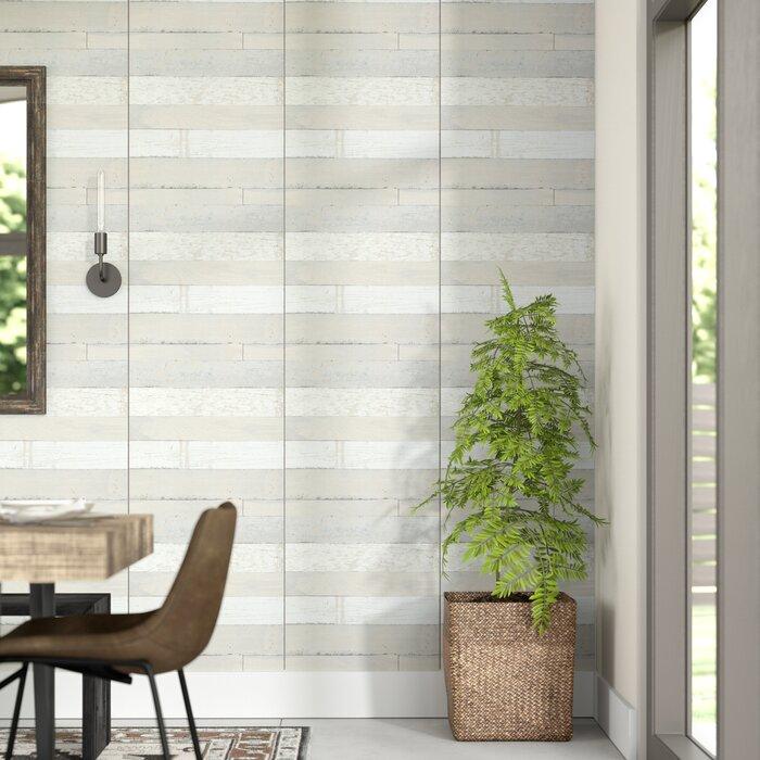 Marasco 33 L X 20 5 W Wood And Shiplap Wallpaper Roll