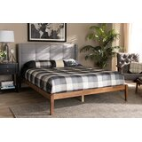 Hess Tufted Platform Bed by Foundry Select