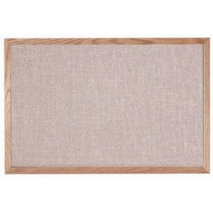 1de8cc7c505 Designer Fabric Quartz Wall Mounted Bulletin Board