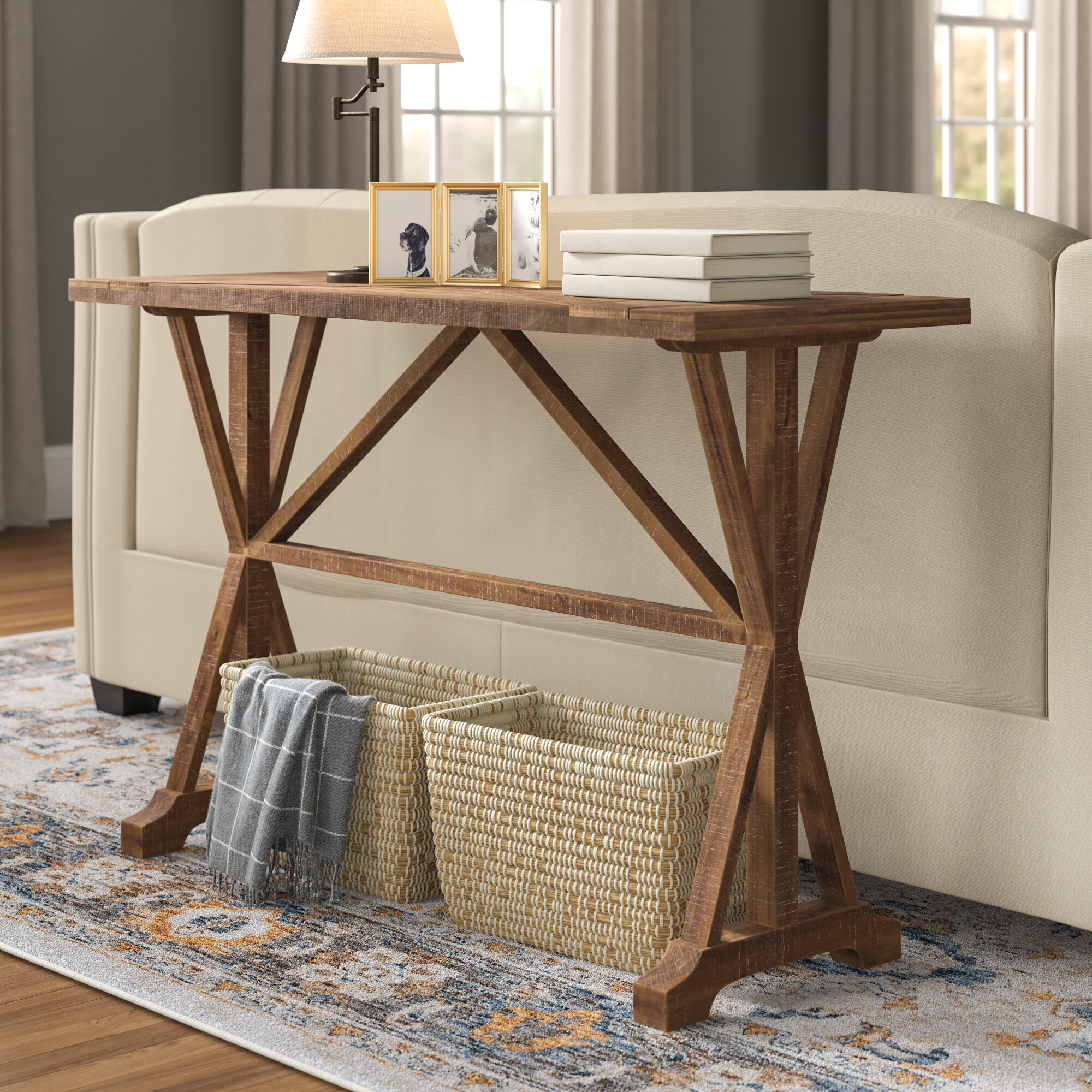 Swell Oak Bluffs Wooden Console Table Gmtry Best Dining Table And Chair Ideas Images Gmtryco