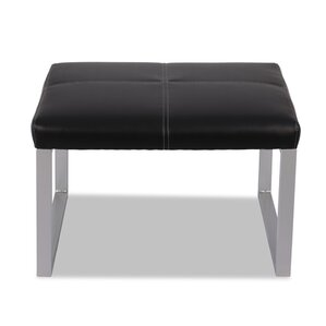 Reception Leather Lounge Series Ottoman by Alera?
