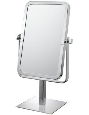 Mirror Image Mirror Image Rectangular Vanity Mirror Finish: Chrome