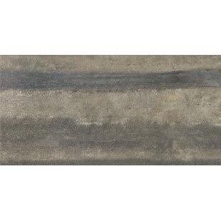 Review Enrichment 12 x 24 Porcelain Field Tile in Gray by Parvatile