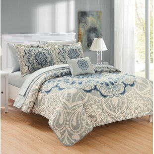 Reseda Reversible Quilt Set