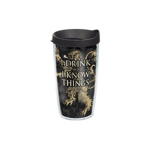 32f4e4596d9 Game of Thrones House Lannister 16 oz Travel Tumbler. by Tervis Tumbler