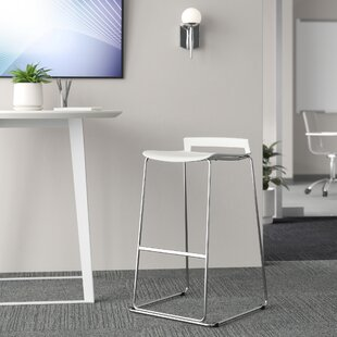 Esto Ergo Curved Seat 26 Bar Stool Set of 2 by Upper Square
