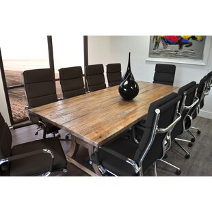 Find the perfect 11 Piece Ligna 8' Rectangular Conference Table Set By Solis Patio