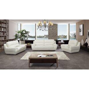Italian Configurable 3 Piece Living Room Set by American Eagle International Trading Inc.