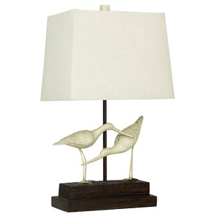 Glenva Sandpipers on Sand 28 Table Lamp