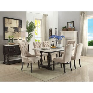 Twomey Upholstered Dining Chair (Set of 2) Gracie Oaks