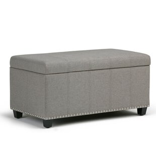 Gravesend Upholstered Storage Bench by Three Posts