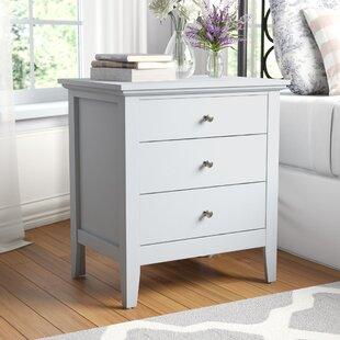 Sonja 3 Drawer Nightstand