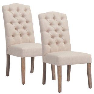 Adan Upholstered Dining Chair (Set of 2)