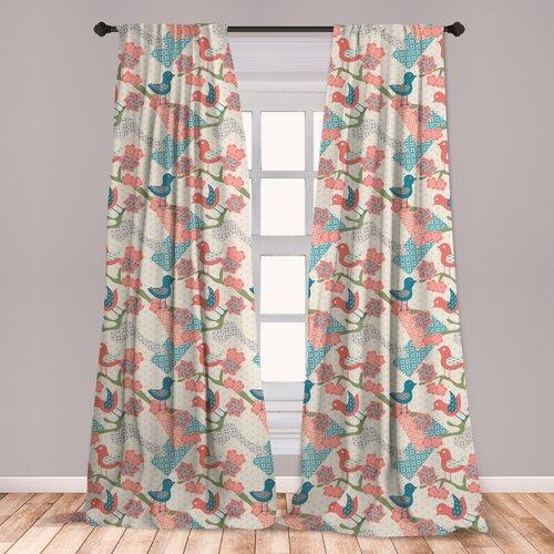 Ladies Soft Touch Exotic Bird Print Nightdress Sizes 12-30