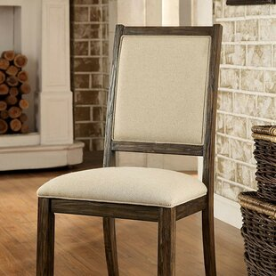 Rhodes Upholstered Dining Chair (Set of 2) Gracie Oaks