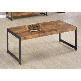 Allbritton Minimalist Coffee Table by Williston Forge