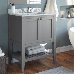 Hammersmith 25 Single Bathroom Vanity Set by Breakwater Bay