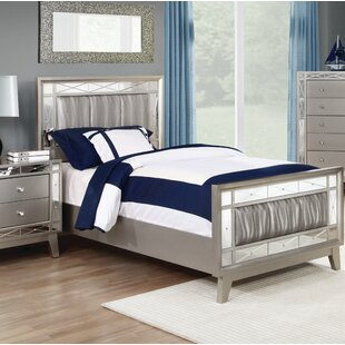 Alessia Upholstered Panel Bed