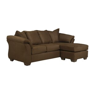 Talfren 89 Reversible Sectional with Ottoman by Winston Porter