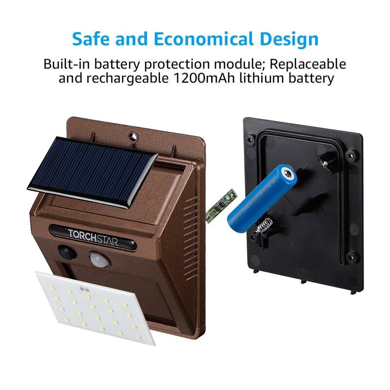 2//5//10Pcs Mini Solar Powered Panel Rechargeable 3LED Flashlight Torch Key Ring