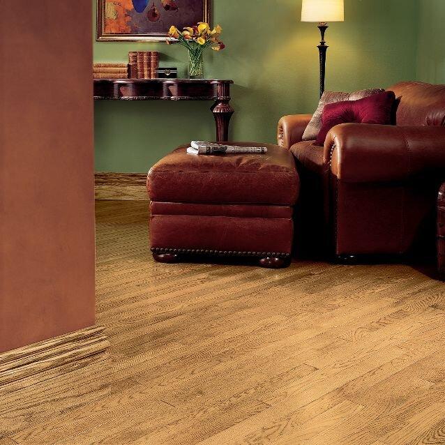 """Westchester 2-1/4"""" Solid Oak Hardwood Flooring in Natural"""