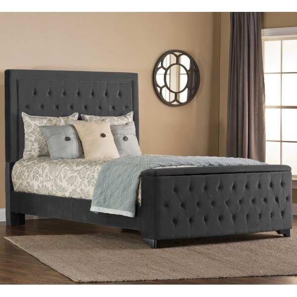 Alcott Hill Amoll King Sized Upholstered Storage Standard Bed Reviews Wayfair