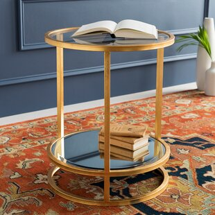 Bridlington ly-Inspired End Table by Everly Quinn