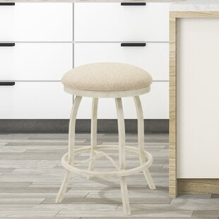 Voyles 26 Swivel Bar Stool Ophelia & Co.