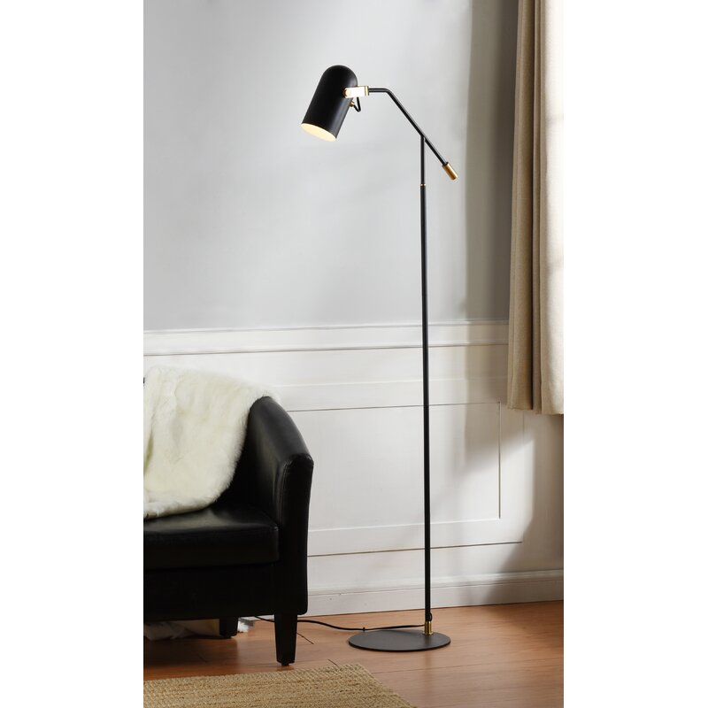 Gracie Oaks Faucher 61 Reading Floor Lamp Wayfair