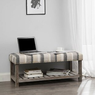 Costner Upholstered Bench by Gracie Oaks Best Choices