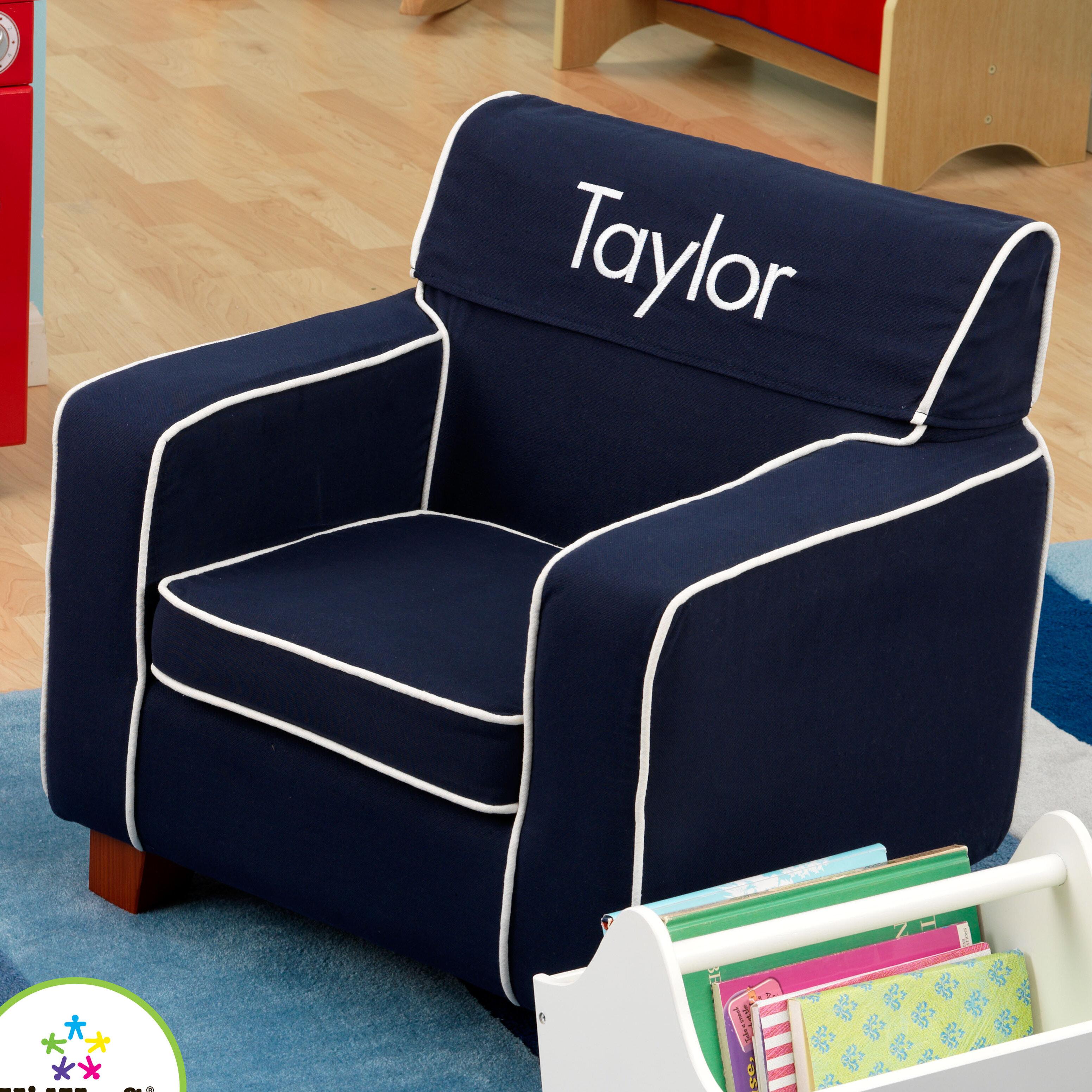 KidKraft Laguna Personalized Kids Club Chair & Reviews | Wayfair