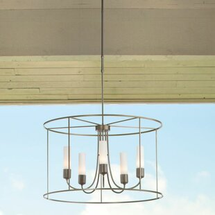 Best Price Portico 5-Light Outdoor Chandelier By Hubbardton Forge