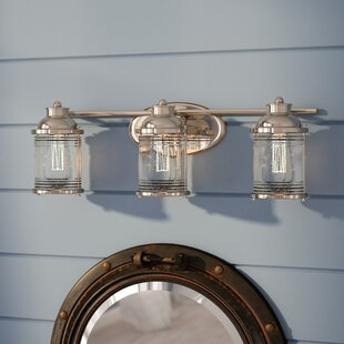 Comparison Galsworthy 3-Light Vanity Light By Beachcrest Home