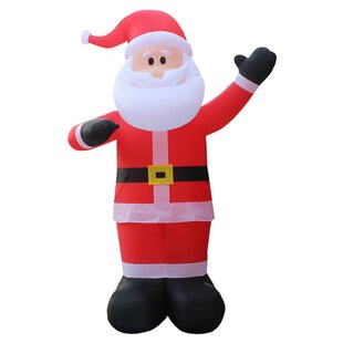 christmas inflatable santa claus - Blow Up Camper Christmas Decoration