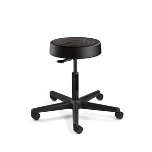 ErgoLux Height Adjustable Stool with Casters