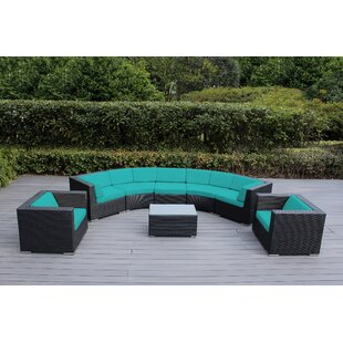Purchase Popham 8 Piece Sectional Set with Cushions Great deals